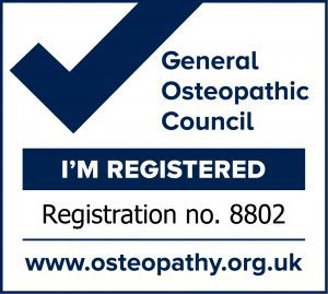 Michael Evans I'm Registered Mark 8802 - Hand and Elbow pain Osteopath